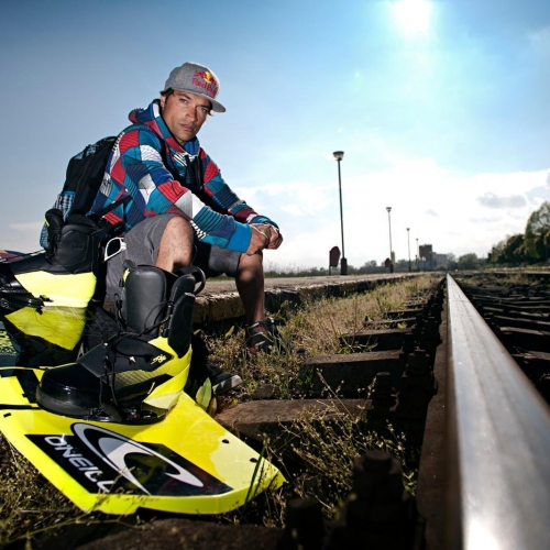 Duncan Zuur, Trainboarding in Eforie Nord, Romania on May 11th, 2011